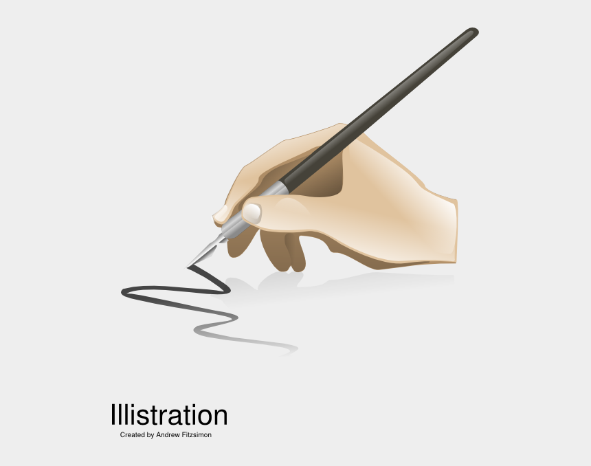 calligraphy pen clipart, Cartoons - Calligraphy Clip Art