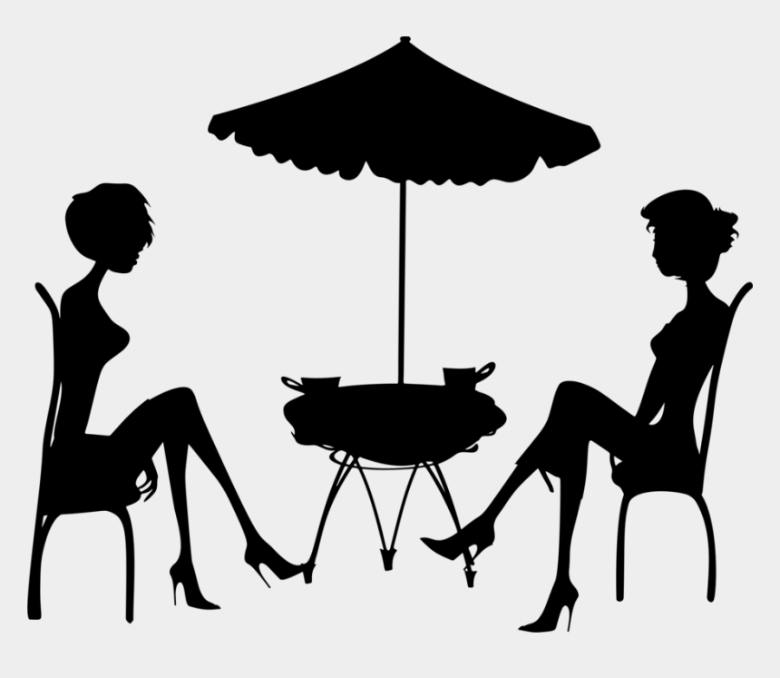 sitting in a chair clipart, Cartoons - Human Behavior Black Chair Sitting - Person Sitting Png Silhouette