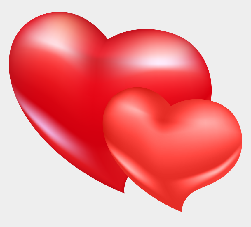 heart clipart transparent background, Cartoons - Red Heart Clipart Png