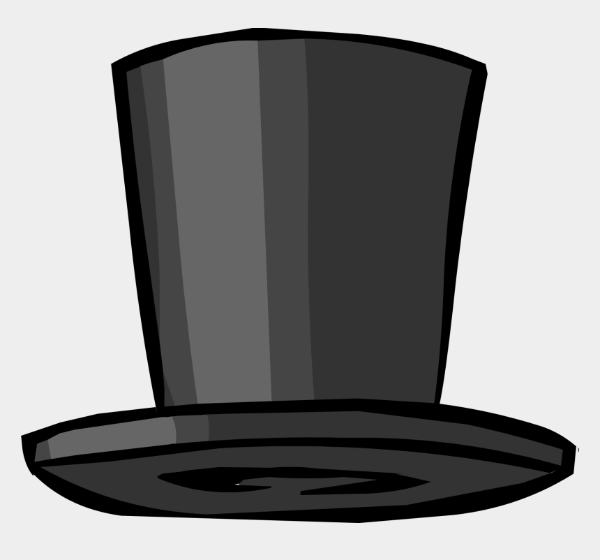 top hat clipart black and white, Cartoons - Top Hat Clothing Icon Id 423 - Club Penguin Top Hat