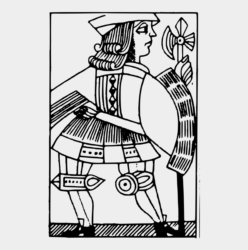 Knave Coloring Pages Card Playing Cliparts Cartoons Jing Fm