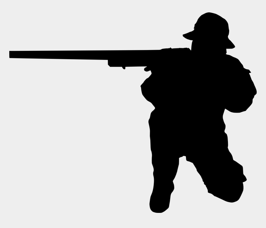 shooting star clipart black and white, Cartoons - Man Shooting Silhouette - Person Shooting Silhouette Png
