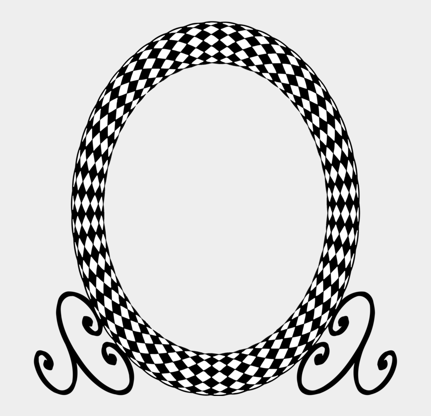 oval clipart black and white, Cartoons - Carpet Clipart Black And White - Happy Easter Black And Gold
