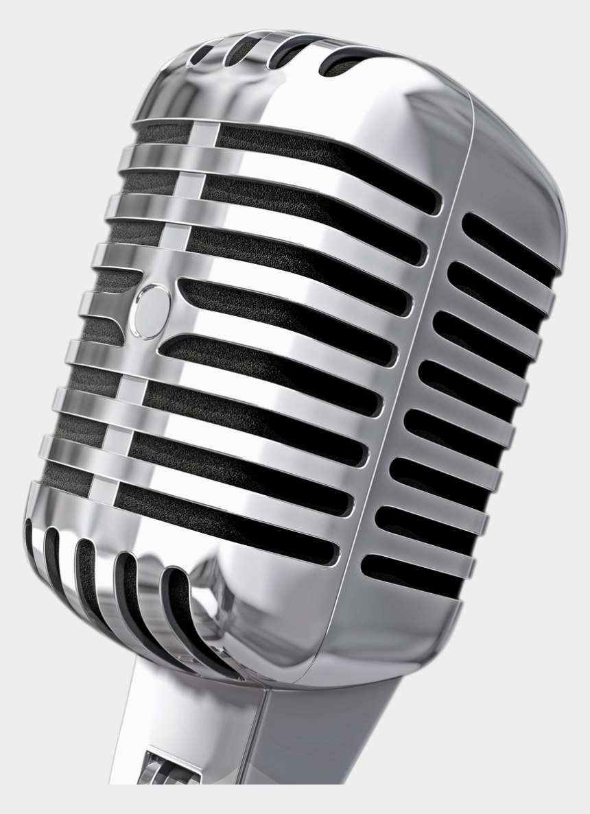microphone with music notes clipart, Cartoons - Microphone Png Image - Old School Microphone Transparent
