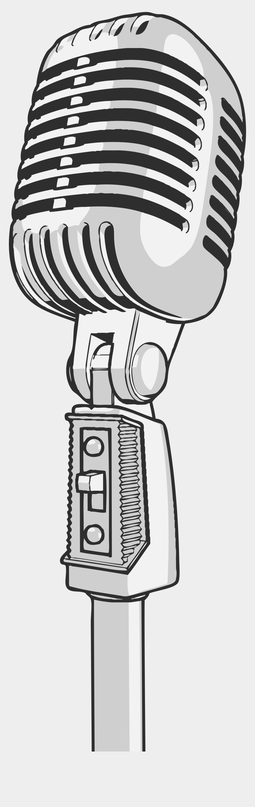 microphone with music notes clipart, Cartoons - Free Online Microphones Musical Instruments Mic Vector - Imagenes De Microfonos Png