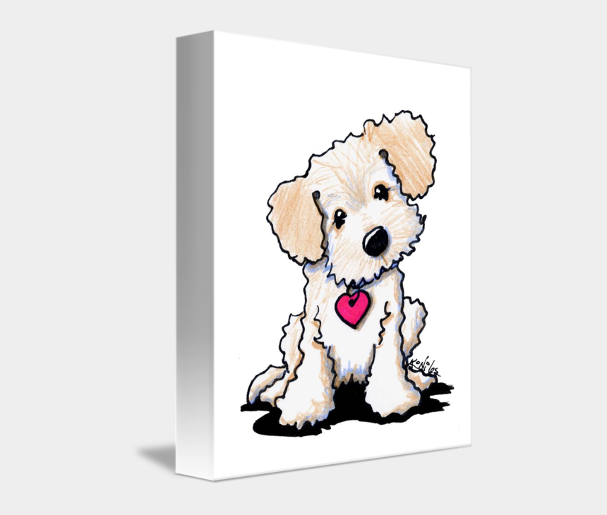 labradoodle clipart, Cartoons - Golden Doodle Png - Doodle Dog Cartoon