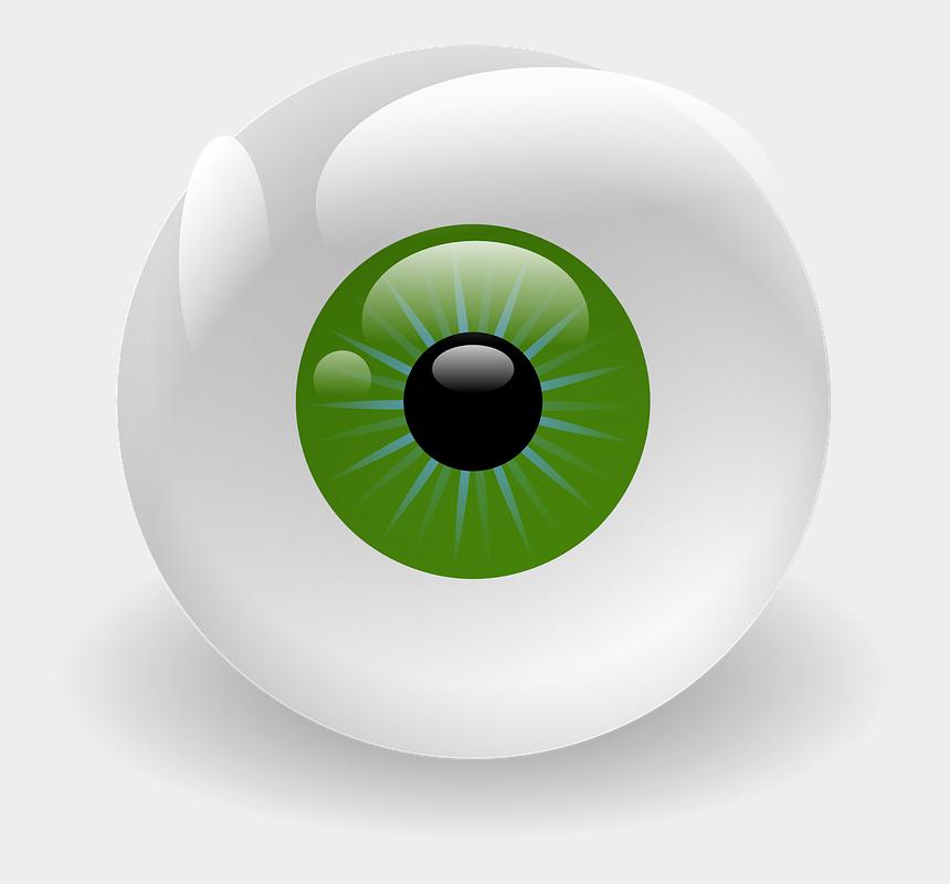 scared eyes clipart, Cartoons - Eyeball, Vision, Retina, Eye, Green, Creepy, Stare - Eye Clip Art