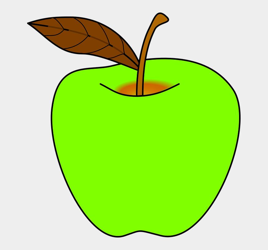 apple stem clipart, Cartoons - Apple Cartoon Png - Green Apples Clipart