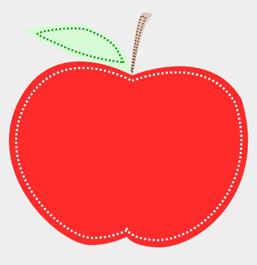 apple stem clipart, Cartoons - Free Vector Graphic - Teacher Apple Clipart