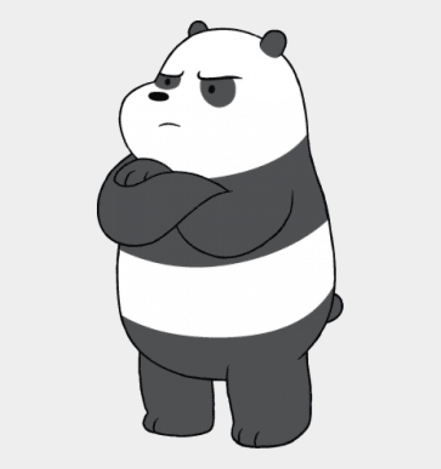 angry mouth clipart, Cartoons - Free Png Download We Bare Bears Panda Angry Clipart - Angry We Bare Bear