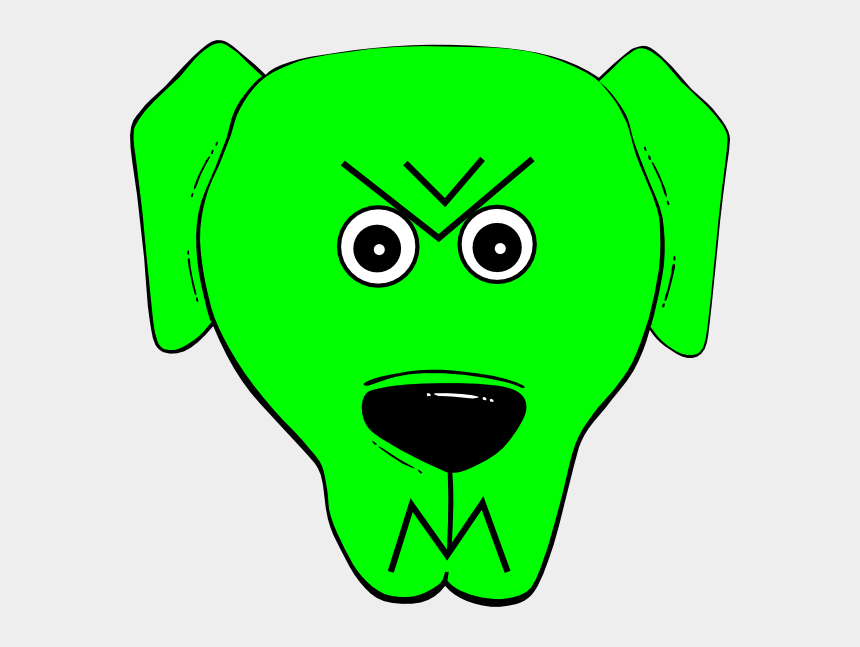 angry mouth clipart, Cartoons - This Free Clip Arts Design Of Green Angry 2 - Cartoon Dog Face