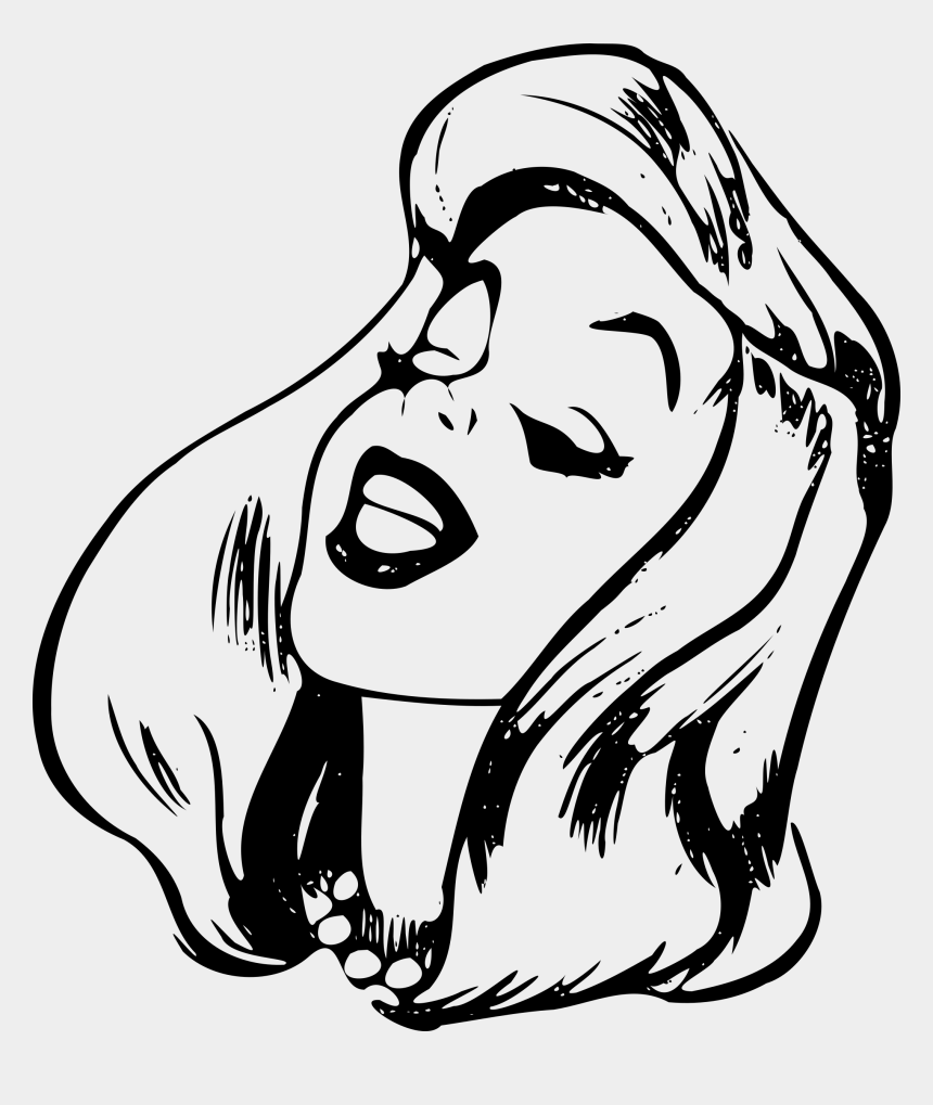 angry mouth clipart, Cartoons - Female Drawing At Getdrawings Com Free For Ⓒ - Line Art Cartoon People