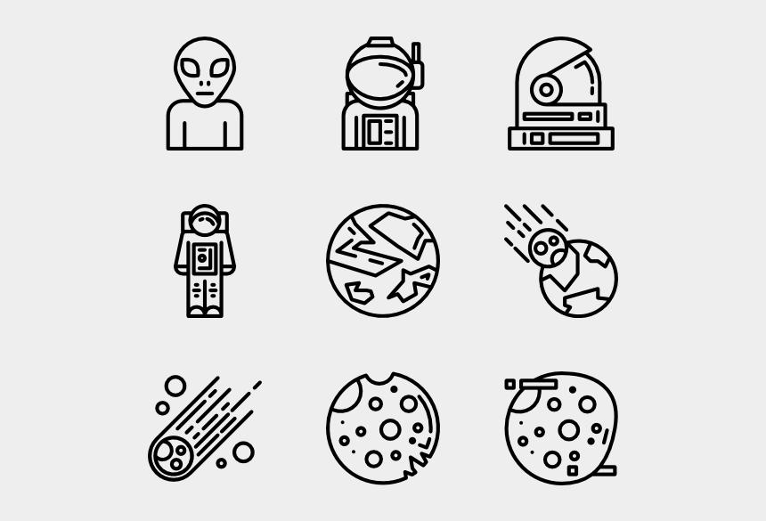 spaceship clipart black and white, Cartoons - Spaceship Svg Black And White - Icon