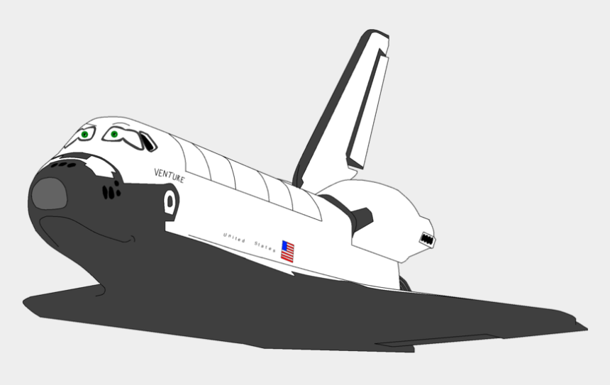 spaceship clipart black and white, Cartoons - Space Shuttle Program Clip Art Transprent Ⓒ - Space Shuttle With Transparent Background