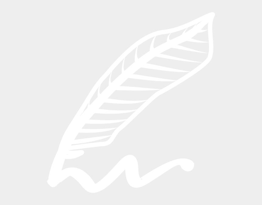 pen clipart black and white, Cartoons - Pen Logo Png White