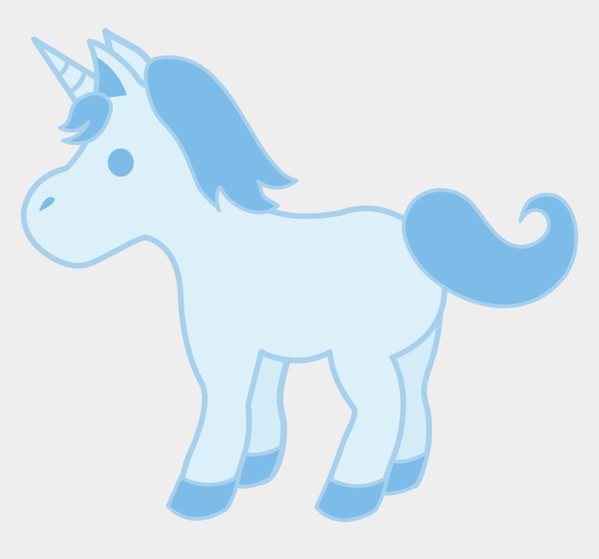 mustang head clipart, Cartoons - Cute Baby Blue Unicorn - Baby Blue Horse