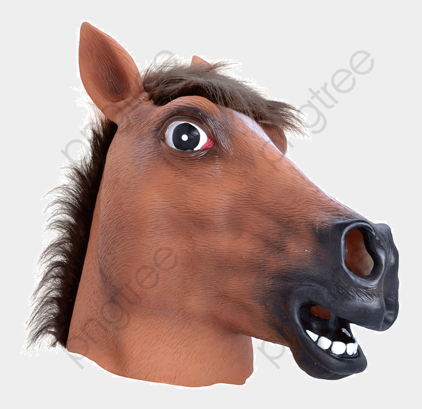 mustang head clipart, Cartoons - M Scara Cabe - Transparent Horse Head Png