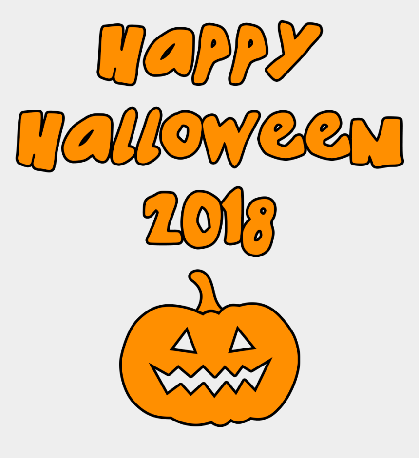 pumpkin clipart transparent background, Cartoons - Download Happy Halloween 2018 Scary Pumpkin Transparent - Happy Halloween 2018 Transparent