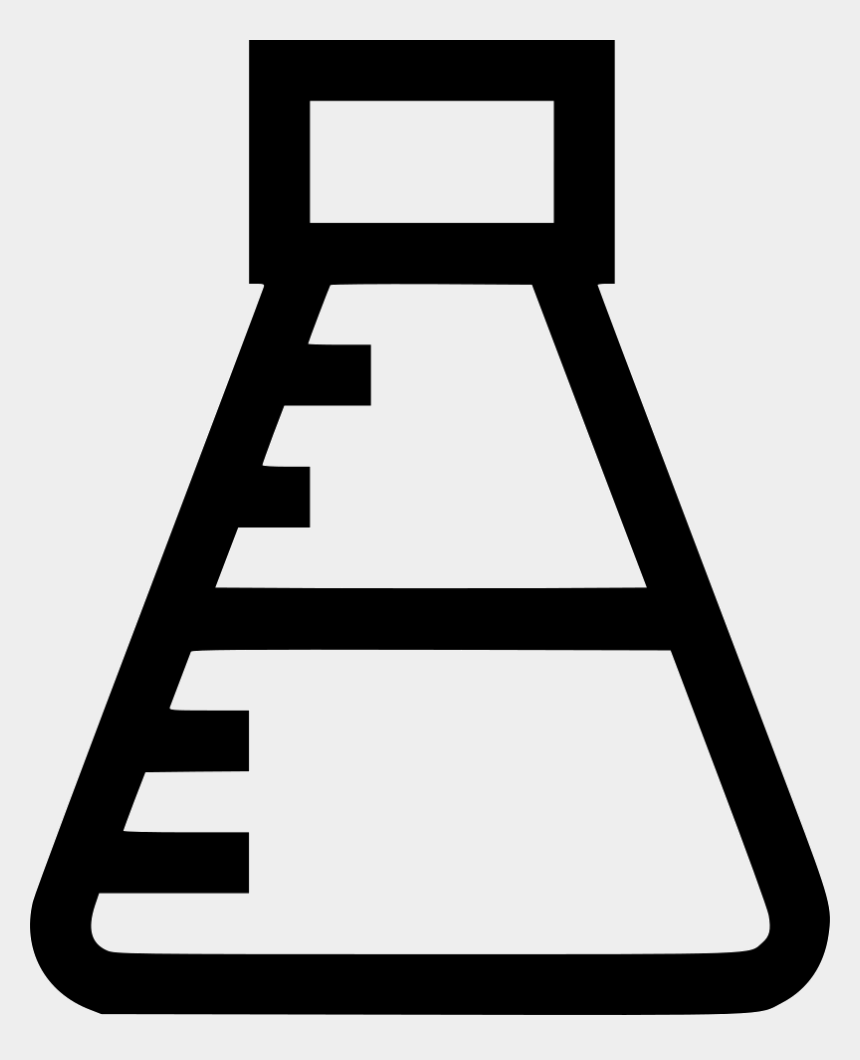 science lab clipart black and white, Cartoons - Maths Science Test Tube Lab Knowledge Education Comments - Math And Science Icon Png