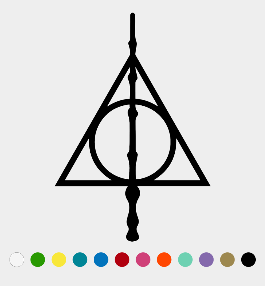 harry potter glasses clipart, Cartoons - Harry Potter Clipart Deathly Hallows - Solemnly Swear That I Am Up