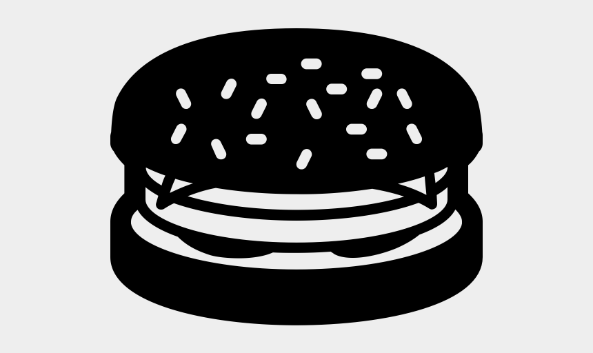 burger clipart black and white, Cartoons - Cheeseburger Rubber Stamp - Illustration