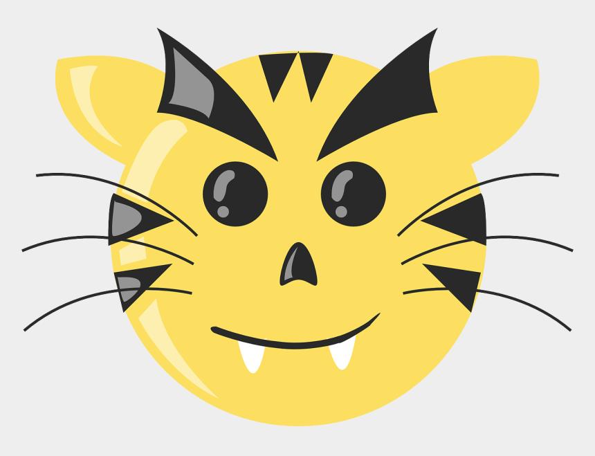 sad mouth clipart, Cartoons - Cartoon Tiger Face Sad - Tiger