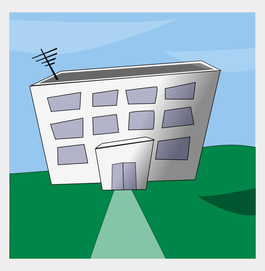 supermarket building clipart, Cartoons - Cartoon Building - Cartoon Office Building