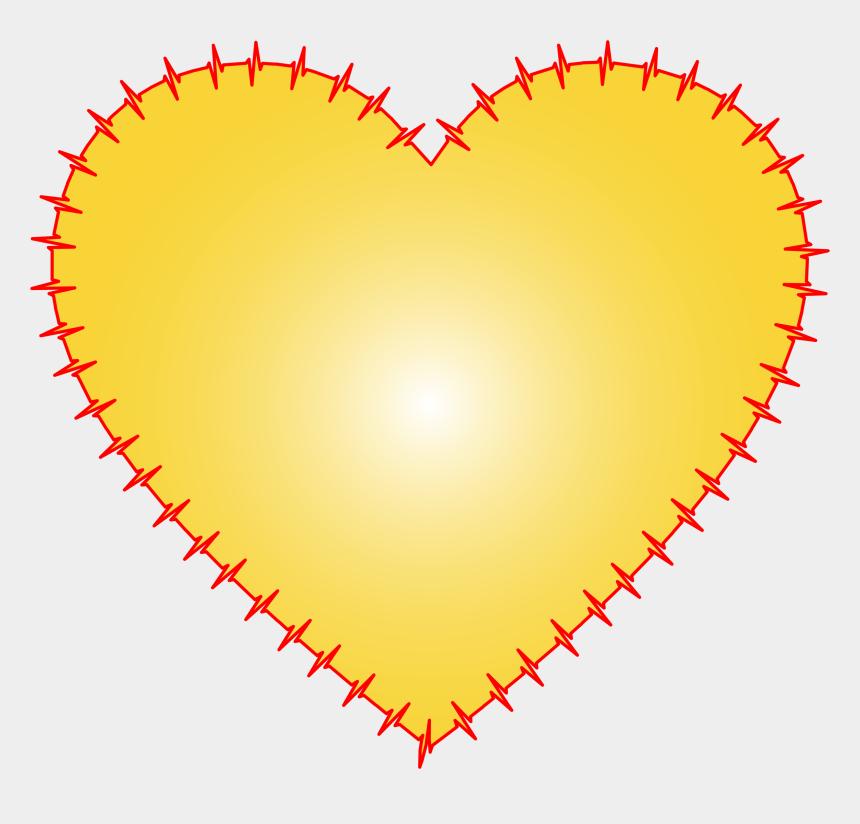 heartbeat line clipart, Cartoons - Heart Ekg Yellow Big Image Png Ⓒ - Alien Perler Bead Pattern