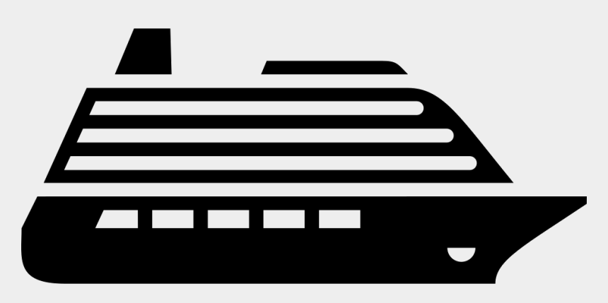 cruise ship clipart black and white, Cartoons - Clipart Transparent Download Png Free Download Onlinewebfonts - Cruise Ship Icon Png