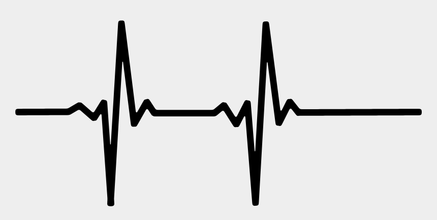 heartbeat line clipart, Cartoons - Heart Rate Monitor Line Name