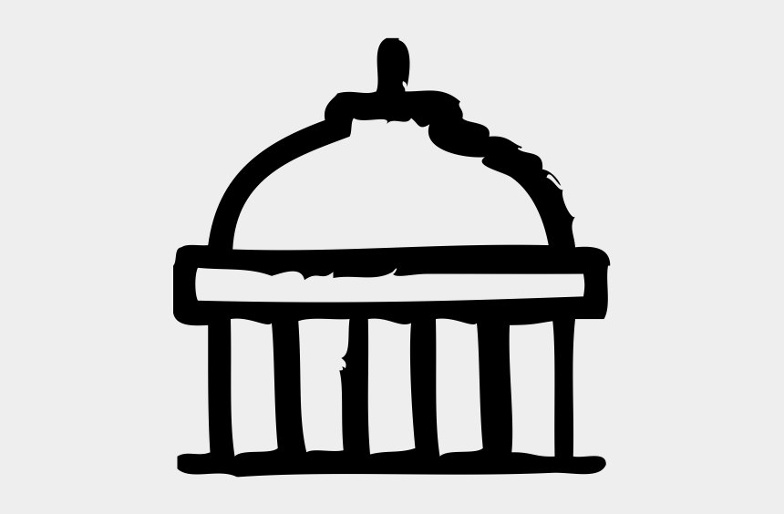 congress building clipart, Cartoons - Capitol Rubber Stamp - Chair Top View Drawing