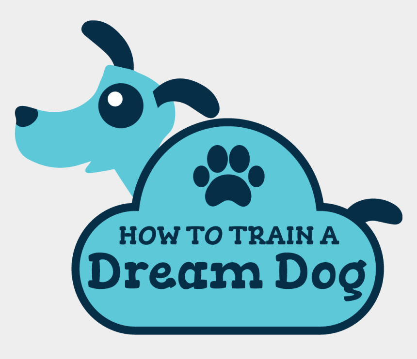 i have a dream clipart, Cartoons - How To Train A Dream Dog - Dog Catches Something