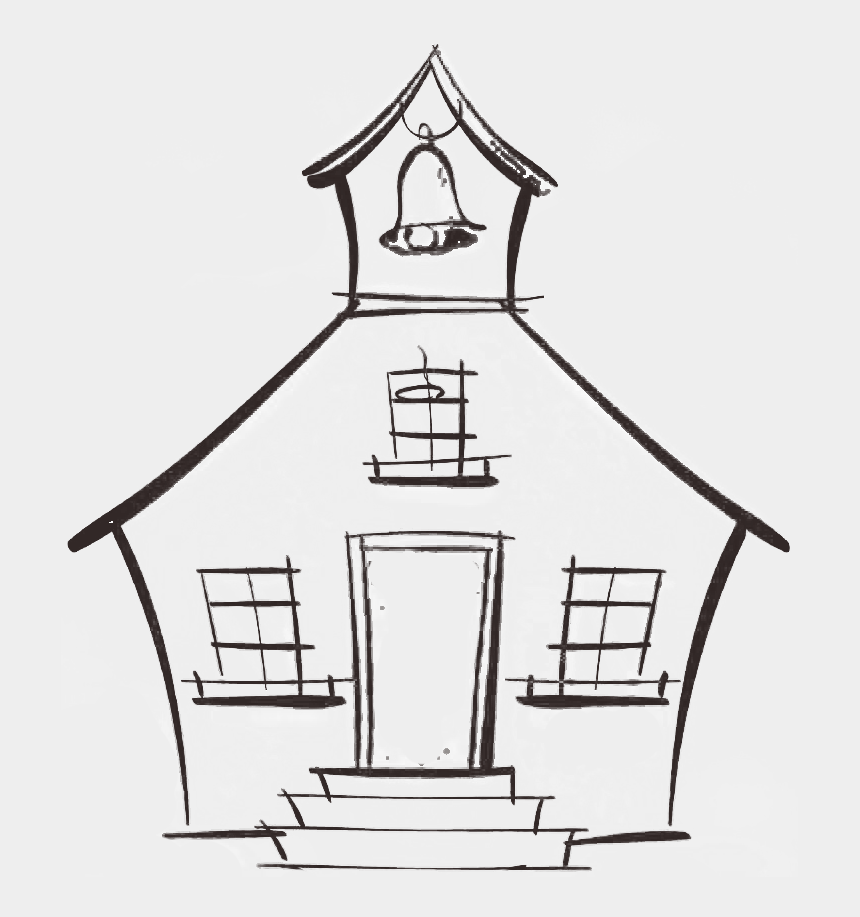 school house clipart, Cartoons - Old House Clipart Easy - Old School House Drawing