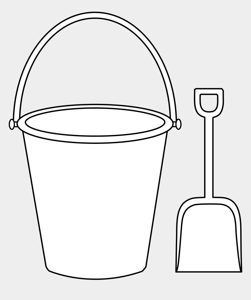 Fishing Clipart Pail - Bucket And Spade Template, Cliparts & Cartoons -  Jing.fm