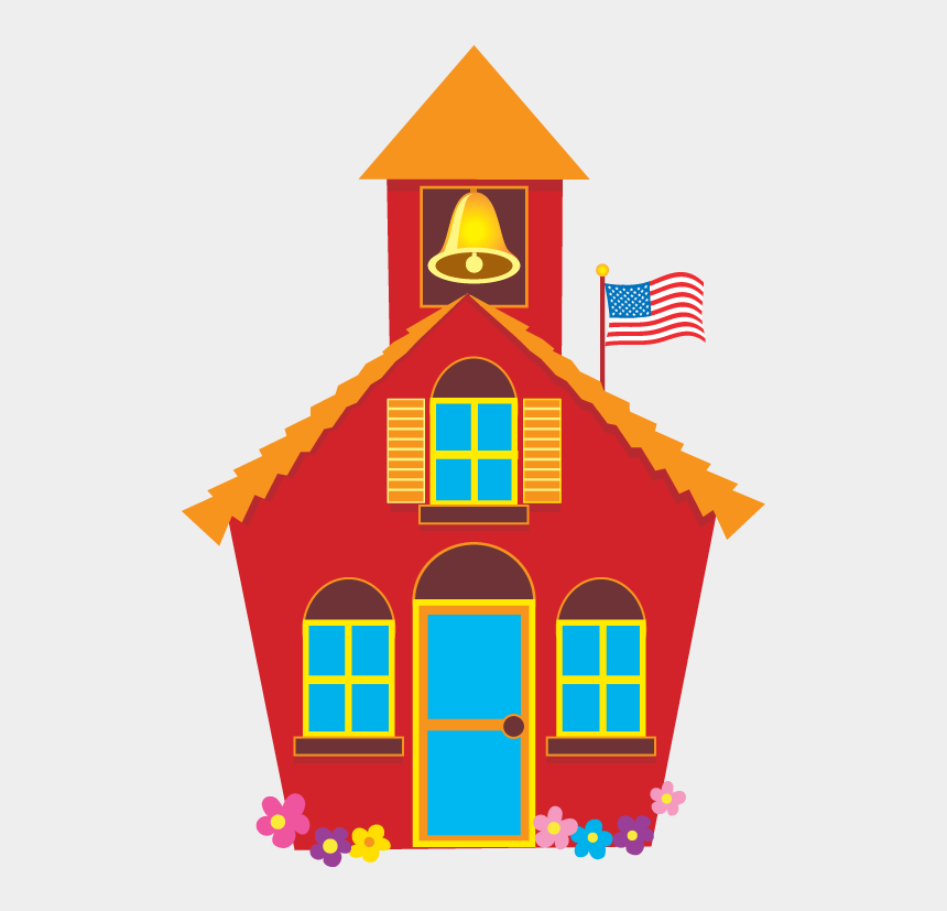 school house clipart, Cartoons - House Clip Art Png - Clipart Little Red Schoolhouse