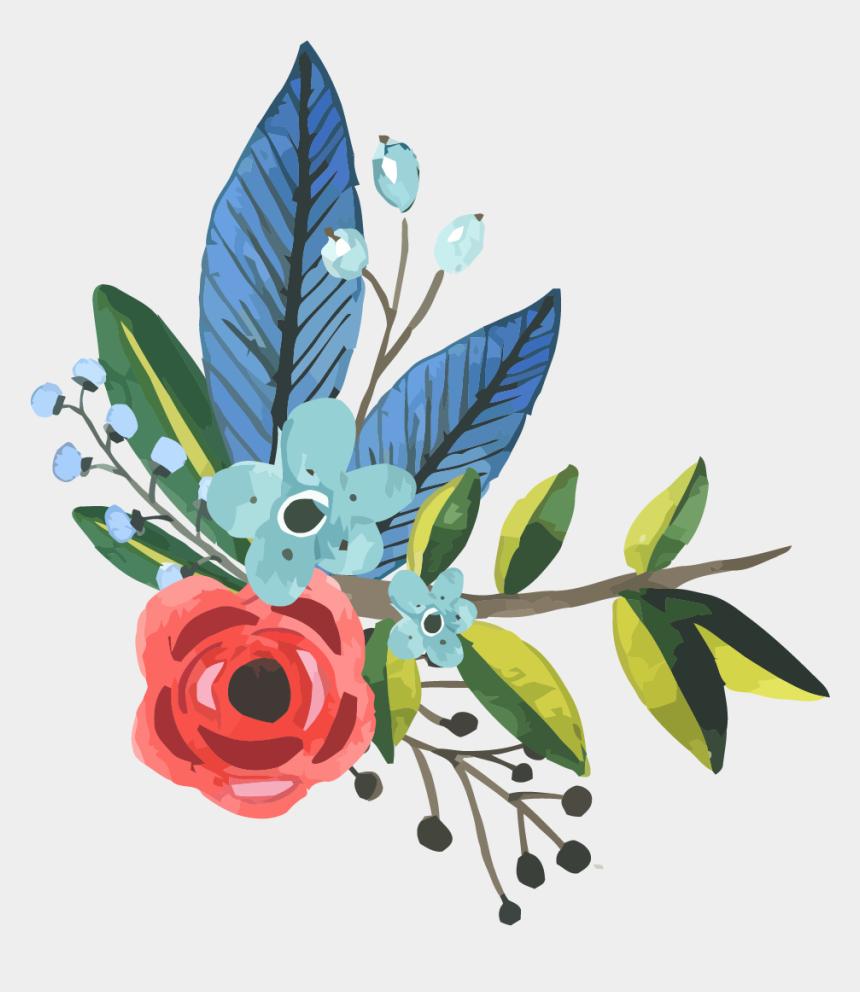 painting clip art, Cartoons - Watercolor Flower Clipart Hd