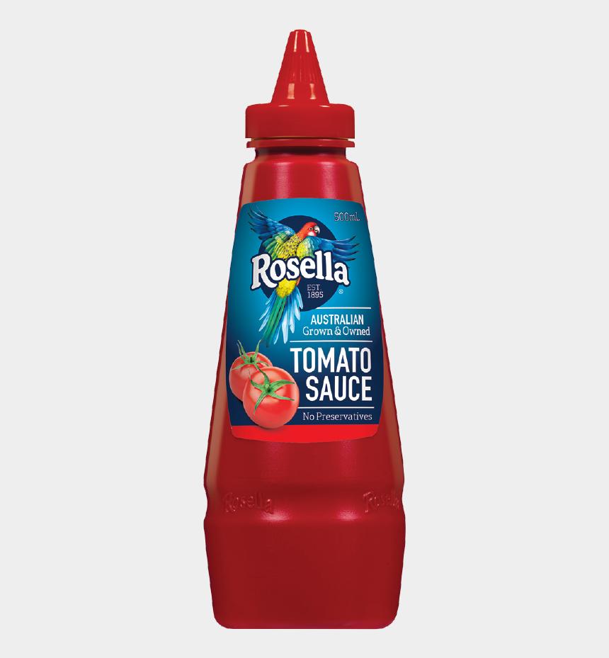 ketchup clipart, Cartoons - Rosella Tomato Sauce Ml - Rosella Tomato Sauce 500ml