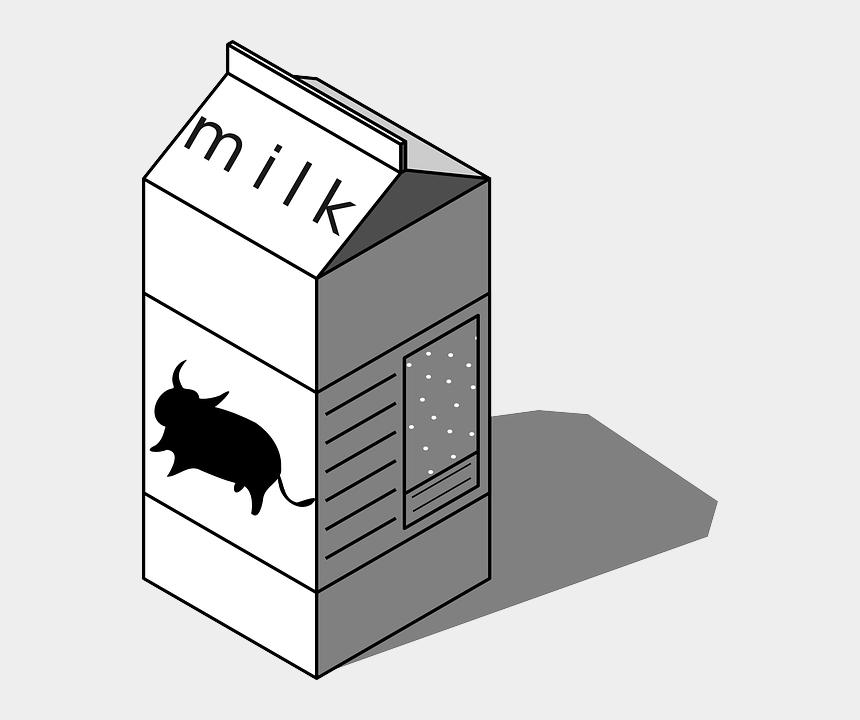 milk clip art, Cartoons - Low Fat Milk Cartoon