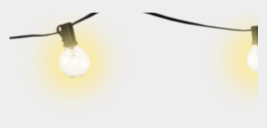 christmas light clip art, Cartoons - String Of Christmas Lights Clip Art Black And White - Christmas Lights Transparent Background Png