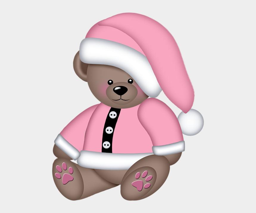 christmas light clip art, Cartoons - Christine Staniforth ♛༻ Christmas Teddy Bear, Christmas - Teddy Winter Bear Clipart