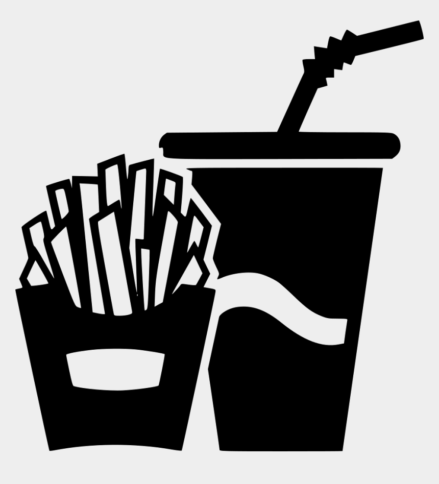 french fries clip art, Cartoons - French Fries Potato Soda Paper Cup Comments - Icon French Fries Png