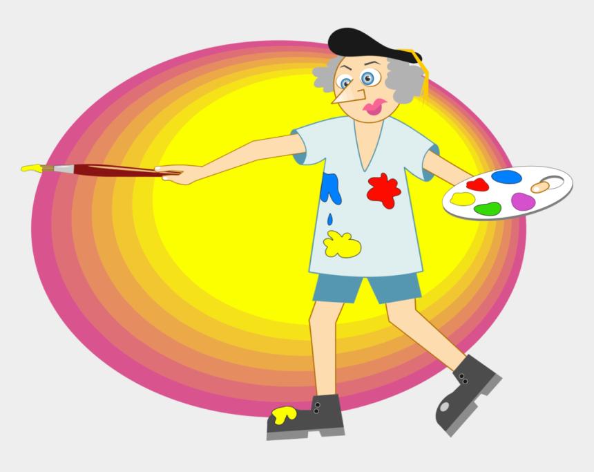paint palette clip art, Cartoons - Painting Palette Drawing Oil Paint - Artist