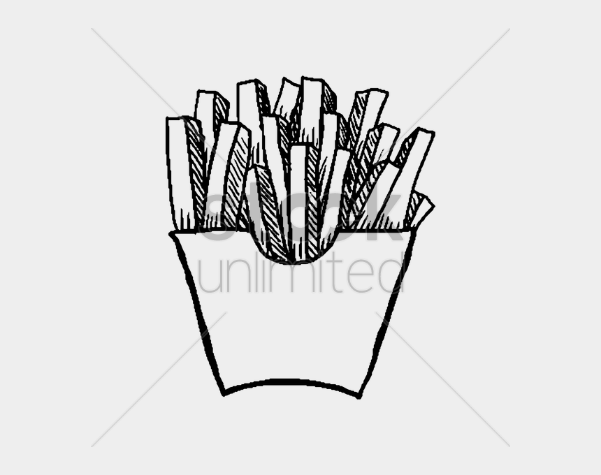 french fries clip art, Cartoons - Fries Vector Kentang - French Fries Illustration Png