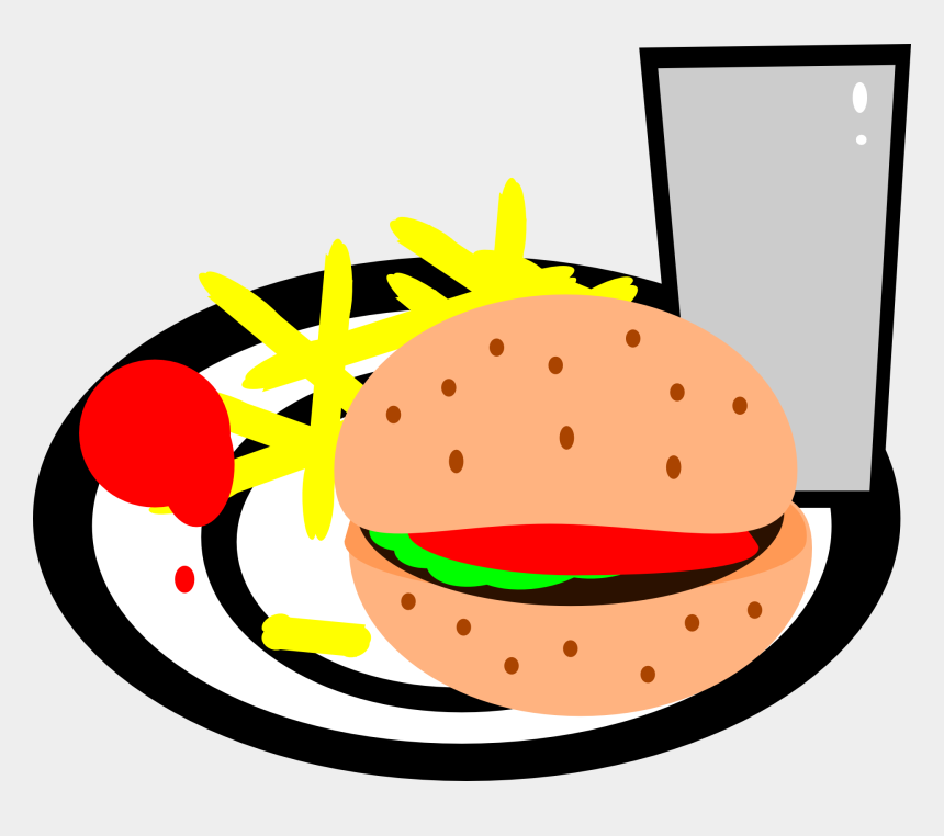 french fries clip art, Cartoons - Burgers And Fries Clipart Png