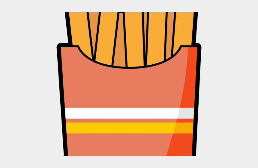 french fries clip art, Cartoons - French Fries Clipart - Cartoon French Fries Clipart