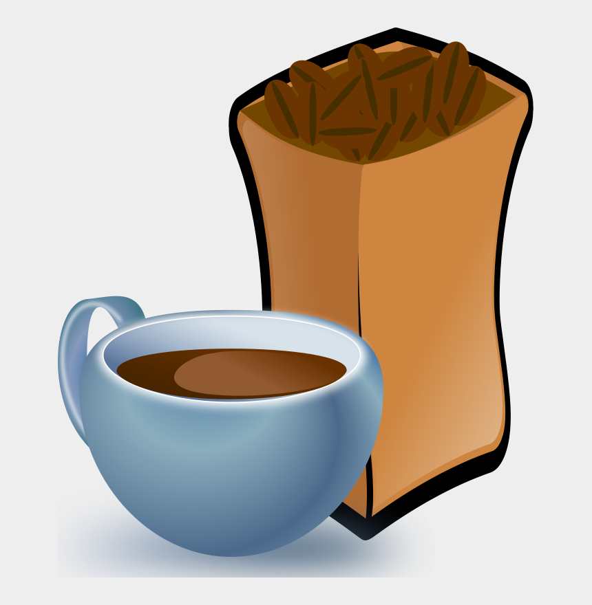 cup of coffee clipart, Cartoons - Cup Of Coffee Clipart - Coffee Beans Clip Art