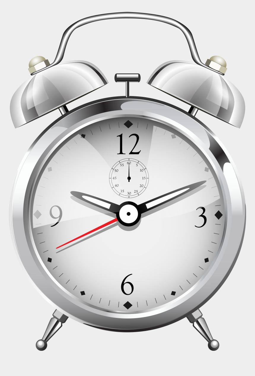 alarm clock clip art, Cartoons - Silver Alarm Clock Png Clip Art - Transparent Alarm Clock Png