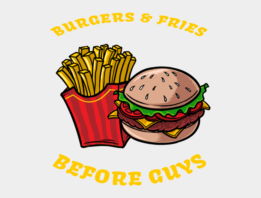 french fries clip art, Cartoons - Burgers And Fries Before Guys - French Fries