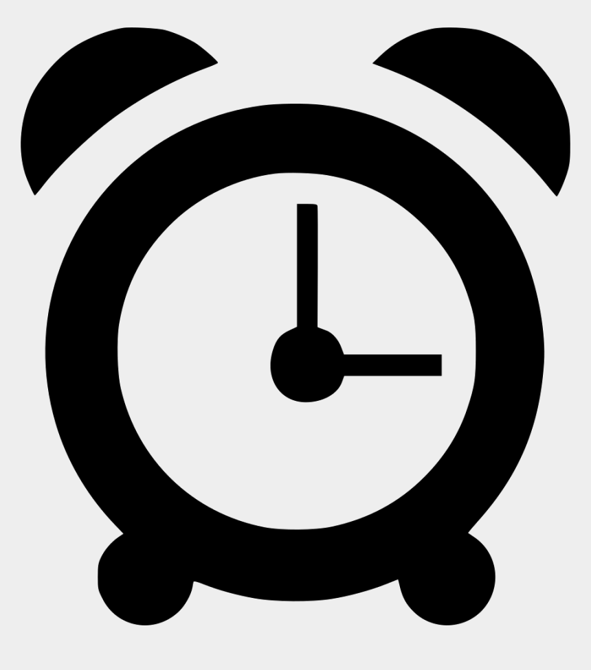 Alarm Clock Comments Transparent Background Clock Clipart