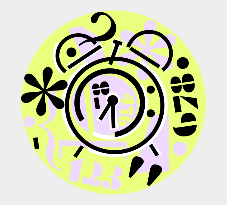 alarm clock clip art, Cartoons - Ringing Alarm Clock Png - Circle